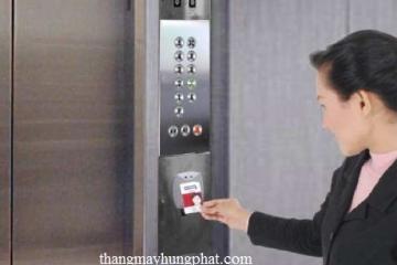 Thẻ từ dùng cho thang máy gia đình