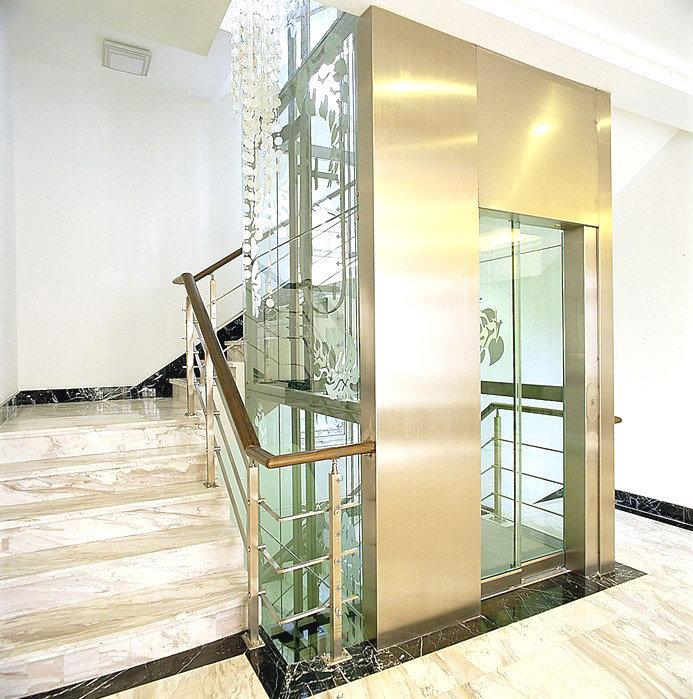 vị trí lắp đặt thang máy