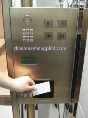 thẻ từ cho thang máy