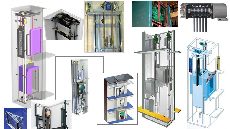 cấu tạo thang máy không phòng máy