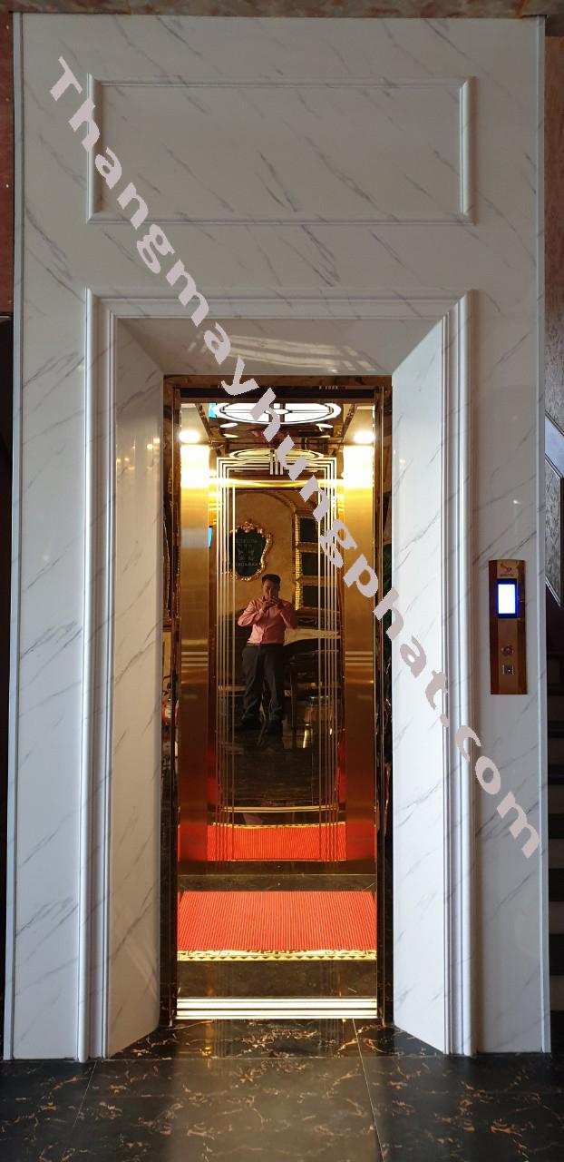 Lắp đặt thang máy tại TP. Lai Châu Chị Thỏa karaoke saodem.3