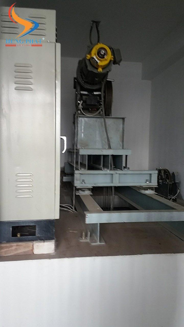 Động cơ thang máy gia đình Mitsubishi