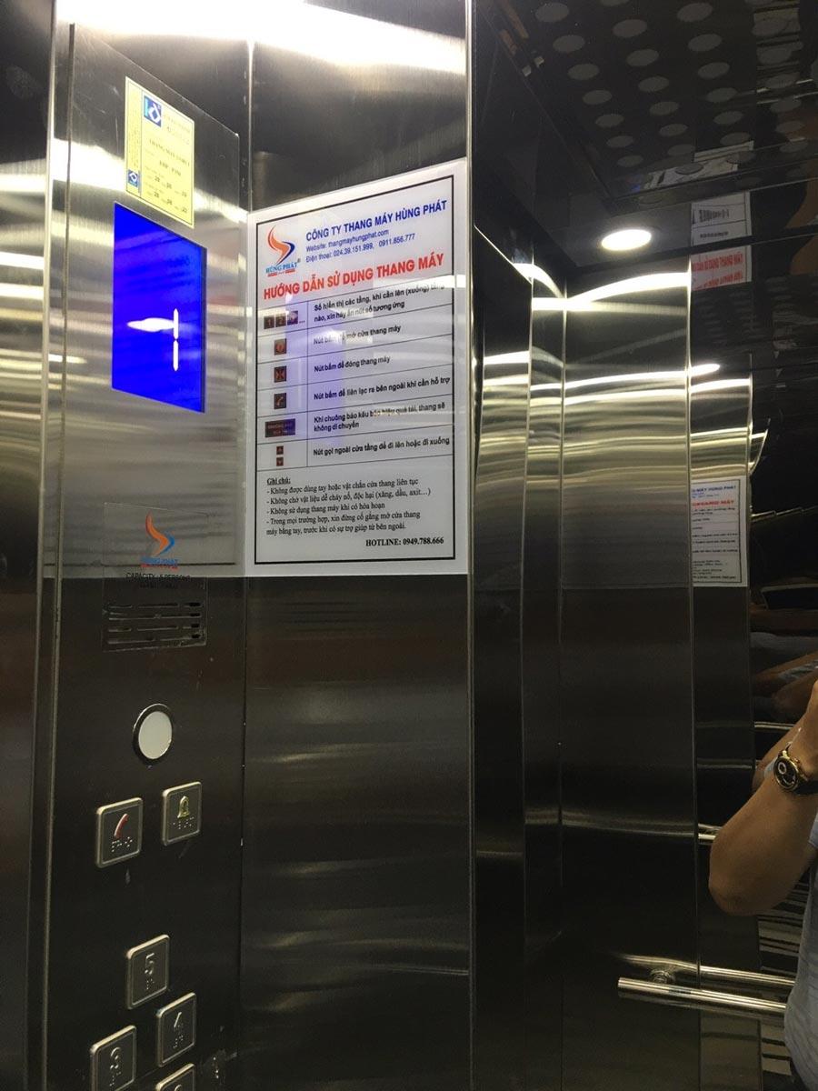 Lắp đặt thang máy gia đình gá rẻ tại Nguyễn Khoái