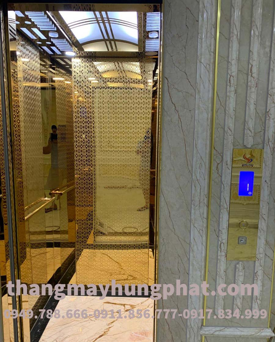 Thang máy gia đình Fuji lắp tại Nam Định